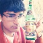 Param Sharma Pellegrino sparkling water