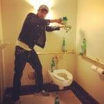 Param Sharma Pellegrino toilet