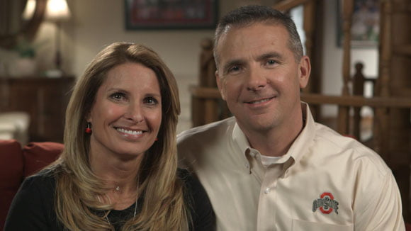 Shelley Mather Meyer is Coach Urban Meyer's wife