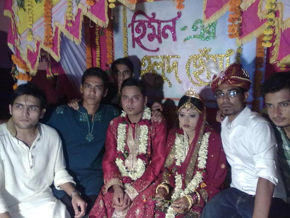 faysal kabir himon wedding