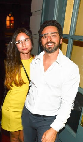 Sergey Brin with beautiful, Girlfriend Amanda Rosenberg