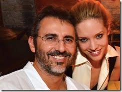 David Mimran wife-model-julie-ordon
