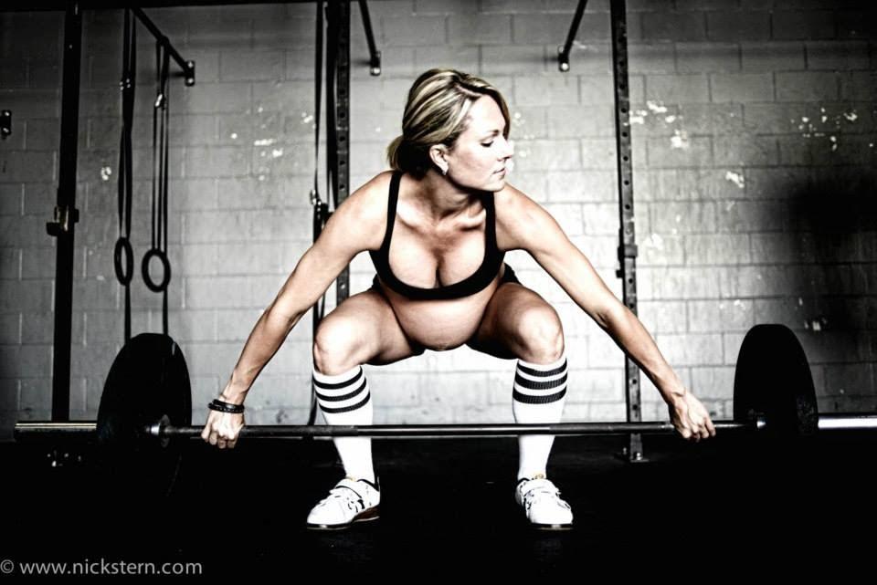 Lea-Ann Ellison- Pregnant Bodybuilder