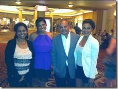 Nina Davuluri Family pic