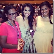 Nina Davuluri mother