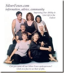 Patsy Swayze silver foxes