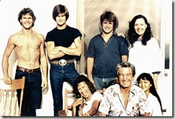 Patsy Swayzwe Patrick Swayze mother family photo