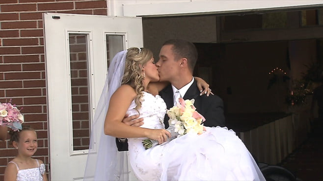 Alissa Boyle- Paralyzed Woman Gets Maried to Nathan Grimes