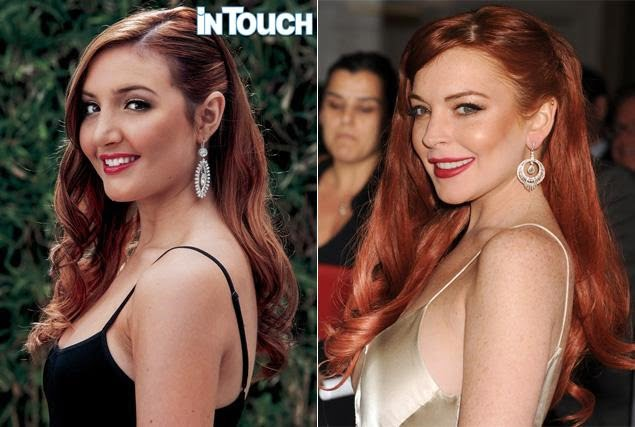 Ashley Horn- Lindsay Lohan's Half Sister