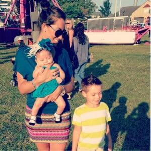 Amanda  Markert Pauly D baby mama-picture