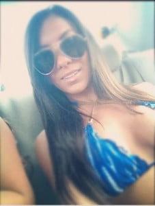 Amanda  Markert Pauly D baby mama_pics
