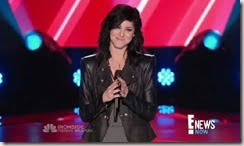 Briana Cuoco the voice audition photos