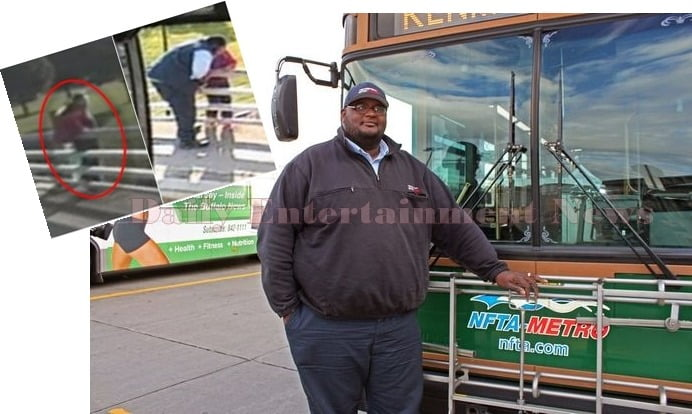 Darnell Barton- Buffalo Bus Driver Who Saved A woman from Jumping Off Bridge.