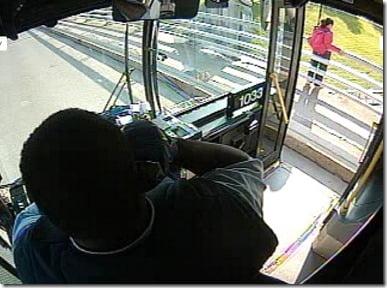 Darnell Barton Buffalo bus driver