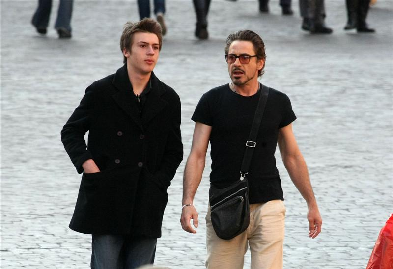 Indio and Robert Downey 2 pic