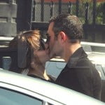 Katharine McPhee Kisses Mystery Man Who Isn't Her Husband