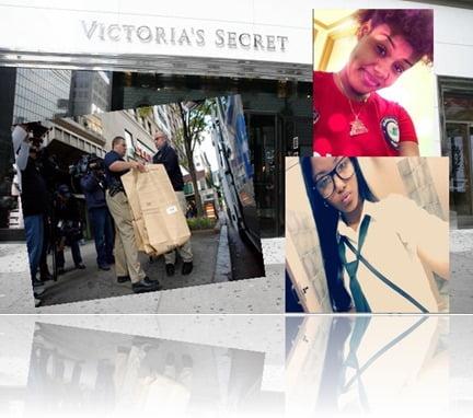 Tiona Rodriguez victorias secret newborn baby shoplifting image