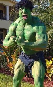 dwayne johnson as the hulk pic