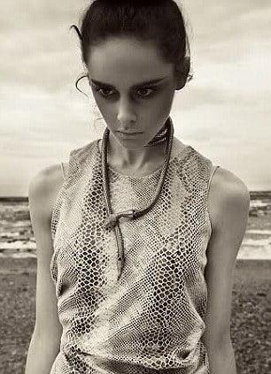 Model Georgina Wilkin