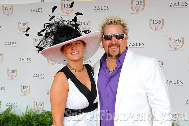 Guy Fieri with his wife Lori