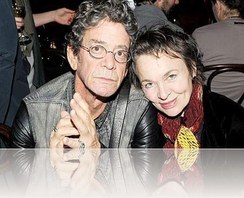 laurie anderson lou reed wife photos