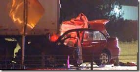 maria tiberi car crash photo