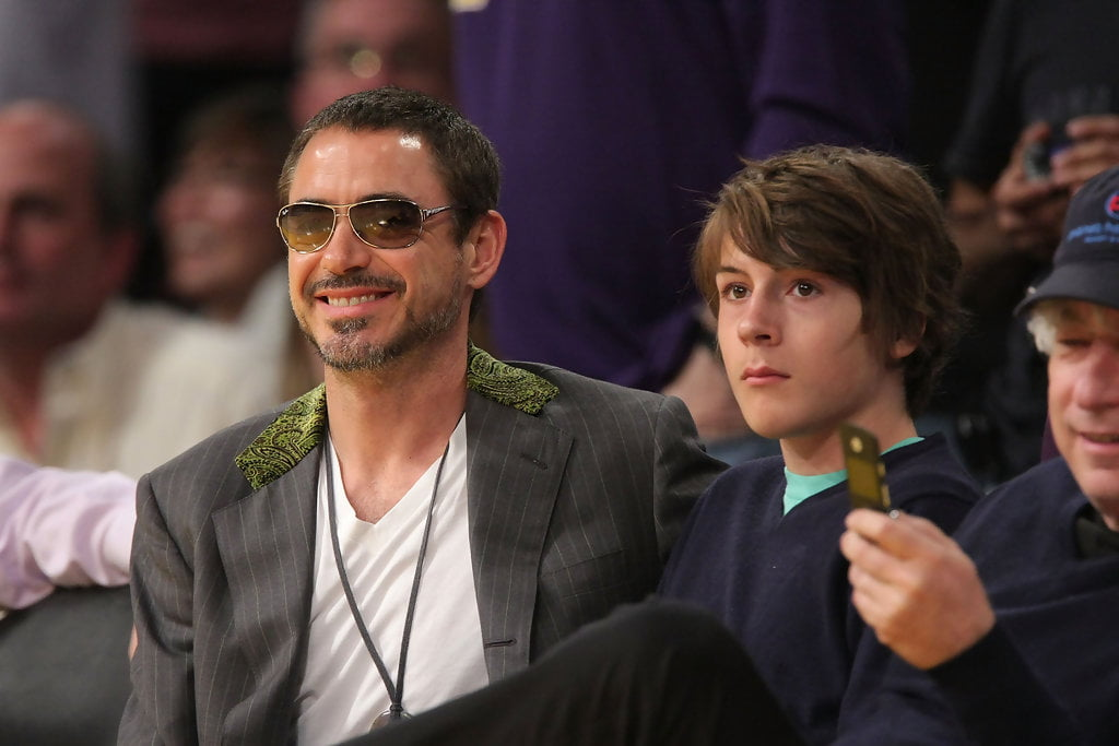 robert and indio downey pic