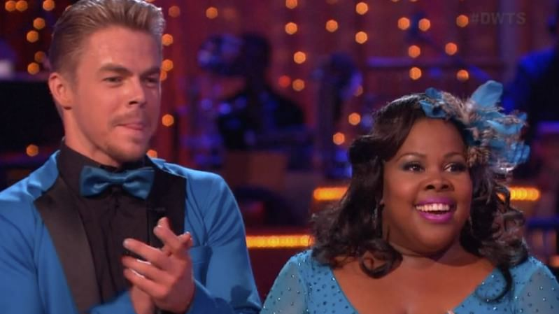 Amber-Riley-and-Derek-Hough pic