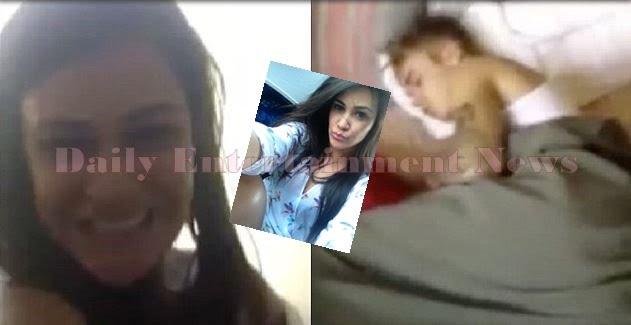 Tati Neves is the Girl in Justin Bieber Sleeping Video in Brazil