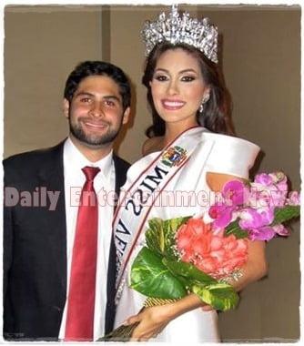 Alberto Figueroa is Miss Universe 2013 Maria Gabriela Isler's Boyfriend