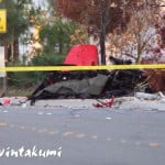 Paul Walker car crash photos