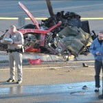 Paul Walker car crash pics