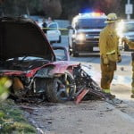 Paul Walker car crash picture