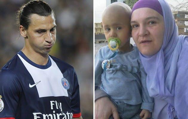 Amela Kamenjas- mother of dying boy Hajrudin Kamenjas who idolizes Zlatan Ibrahimovic