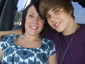 erin and justin bieber pic