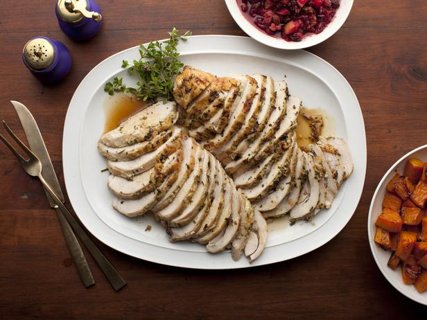 herb roasted turkey breast pic