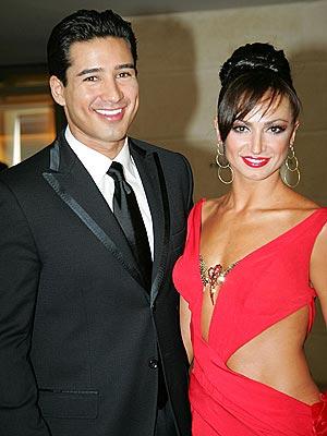 arie luyendyk jr and karina smirnoff dating