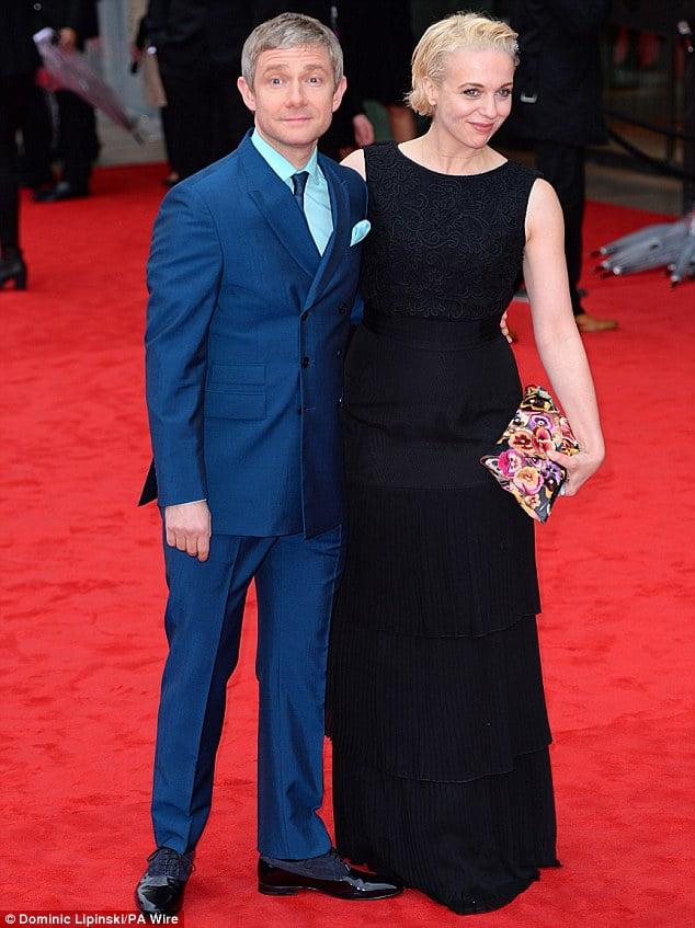 Amanda Abbington- The Hobbit Actor Martin Freeman's ... Joe Freeman Facebook