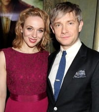 Amanda Abbington- The Hobbit Actor Martin Freeman's Girlfriend
