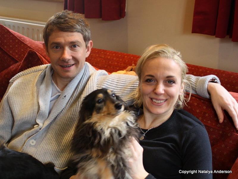 Amanda Abbington- The Hobbit Actor Martin Freeman's ...