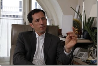 Gad Elmaleh midnight in Paris