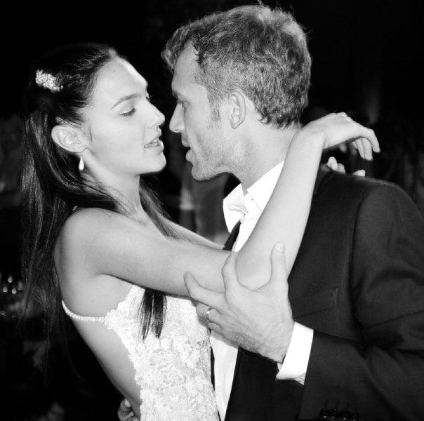 Gal Gadot Yaron Versano wedding photo
