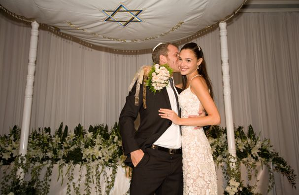 Newly married husband and wife couple: Yaron Versano and Gal Gadot
