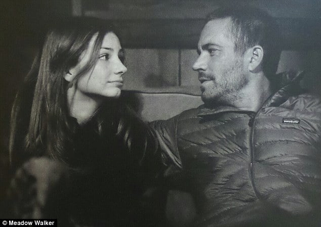 Paul Walker was a passenger in the red Porsche Carrera GT - driven by friend and former racing driver Roger Rodas, when it smashed into a tree and burst into flames. There was one person waiting for him to arrive. That is his 15-year-old daughter Meadow Rain Walker. #paulwalker #meadowwalker #meadowrainwalker @dailyentertainmentnews