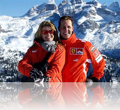 Michael Schumacher wife Corinna Schumacher