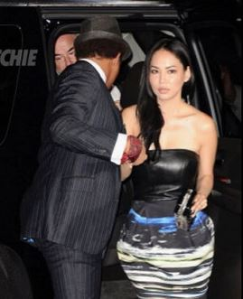 Miranda Howard Terrence Howard wife 2013