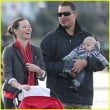 Norman Kali Evangeline Lilly and son pic