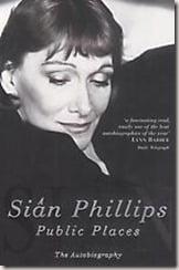 Sian Phillips autobiography