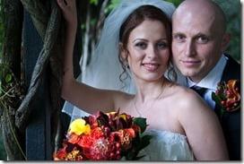 Svetlana Bukharina Kanarikov Dmitriy Kanarikov wedding pic