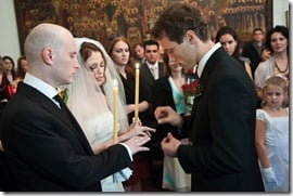 Svetlana Bukharina Kanarikov Dmitriy Kanarikov wedding pics